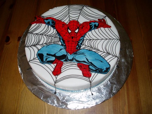 Tortas de Spiderman</em>