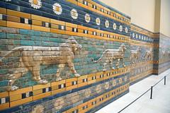 2012-10-10 10-13 Berlin 318 Pergamon Museum, Prozessionsstraße von Babylon