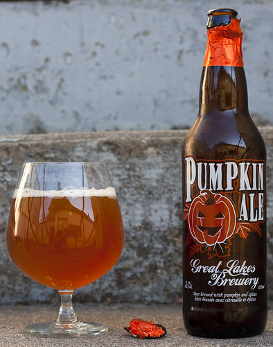 Review: Great Lakes Pumpkin Ale (2012) by Cody La Bière
