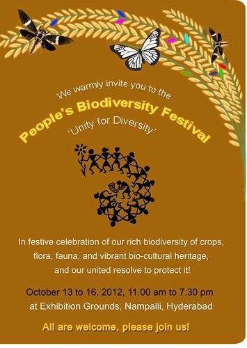 Biodiversity Festival 10.2012