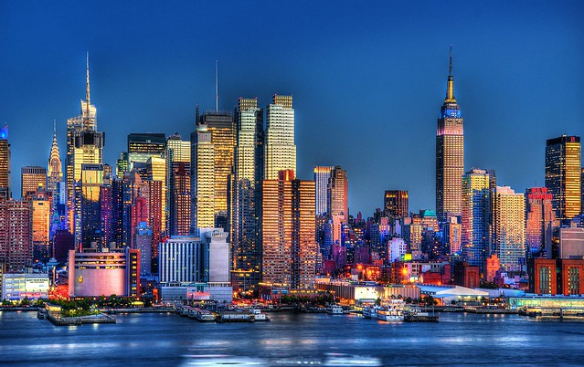 New york skyline 2 flickr photo sharing for Dove soggiornare a new york
