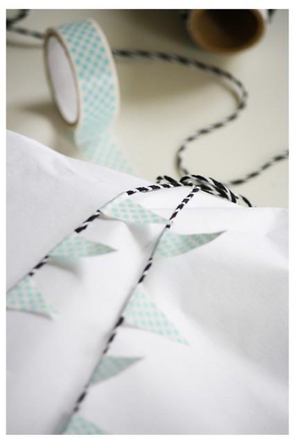 envolver con hojas de papel blanco (2)