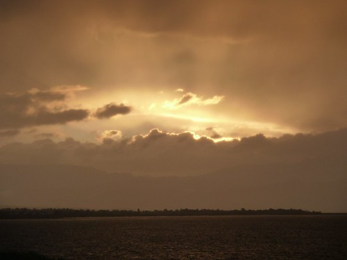Sunset over Lake Beysehir by mattkrause1969