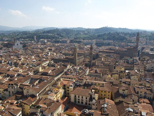 Panorama of Florence as seen from the Cupola of Santa Maria del Fiore