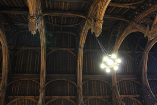 Houses of parliament: soffitto