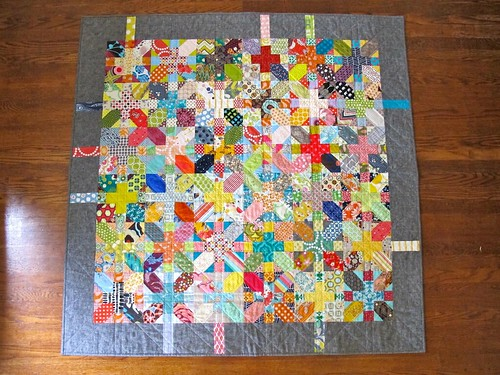 x&+ quilt front