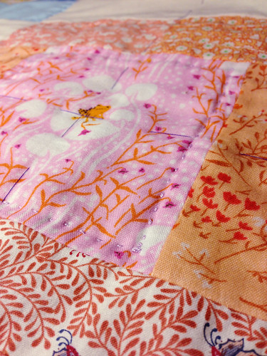 Outline Quilting Detail