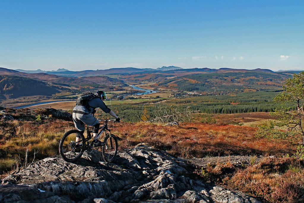 Balblair MTB Trails: Autumn Riding