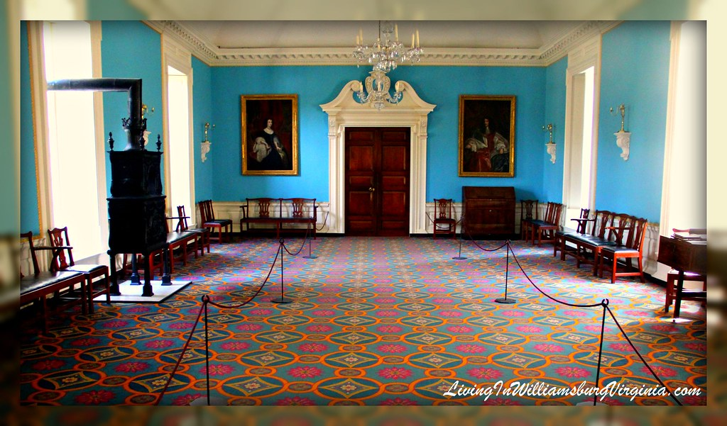 Living In Williamsburg Virginia Great Room At The Governor 39 S Palace Colonial Williamsburg
