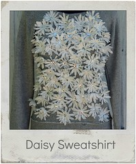how to make a daisy sweatshirt