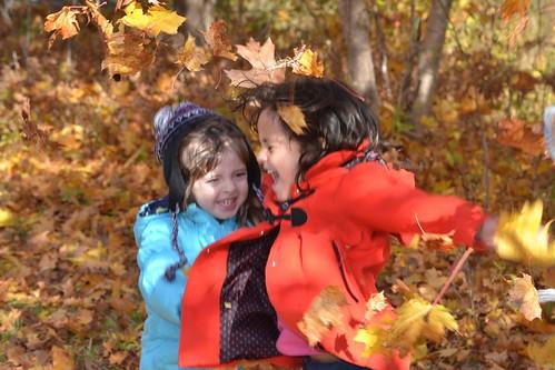 fall leaves nikon toddler preschool childrenatplay beaverbank auturn