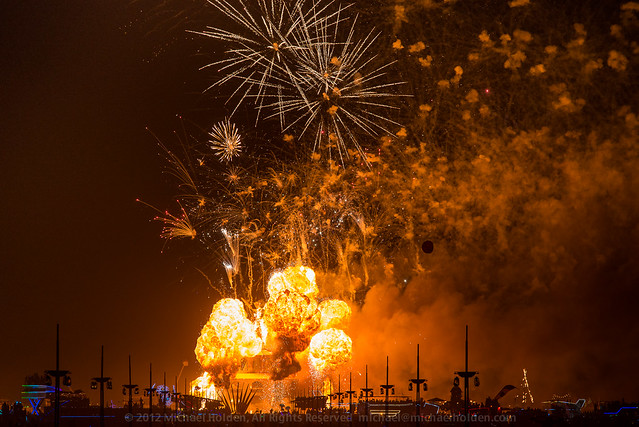 Burning Man 2012: On Fire