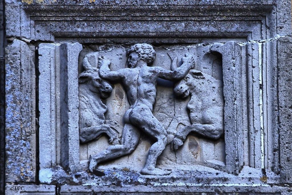 Hércules contra los Toros de Gerión