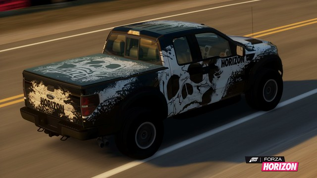 2011 Ford F-150 SVT Raptor with LCE Livery