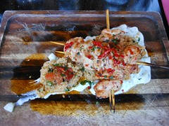 Skewered Chicken with Couscous