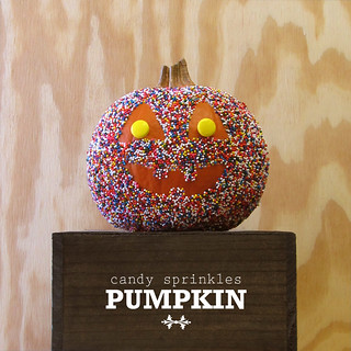 candy sprinkles pumpkin