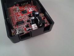Olimexino im Arduino-Gehäuse