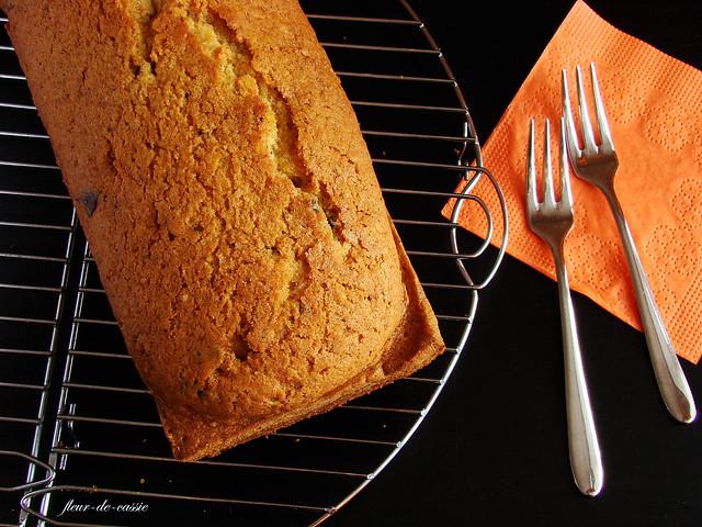 тыквенный кекс с пряностями и шоколадом Марты Стюарт 1