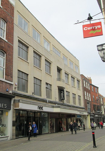 Next shop in Spurriergate, York