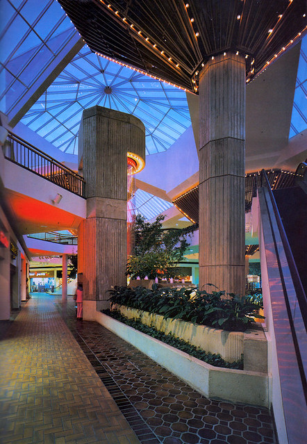 Valley Hills Mall Cadillac Fairview Shopping Center North Carolina 1978