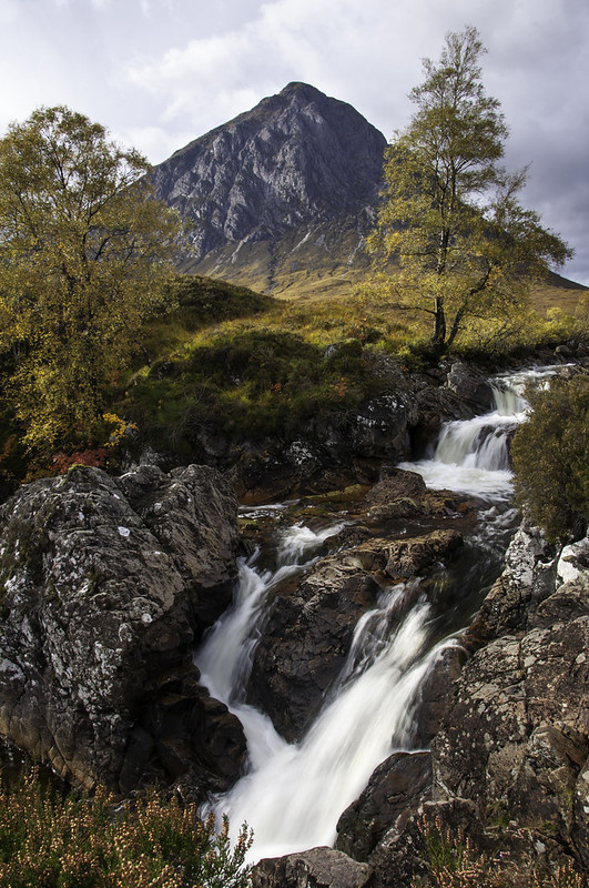 Autumn at Glen Etive