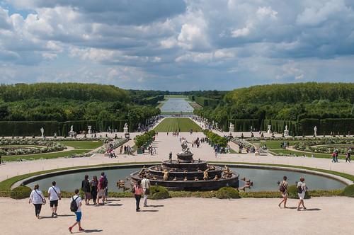 Gardens at Chateau de Versailles, France