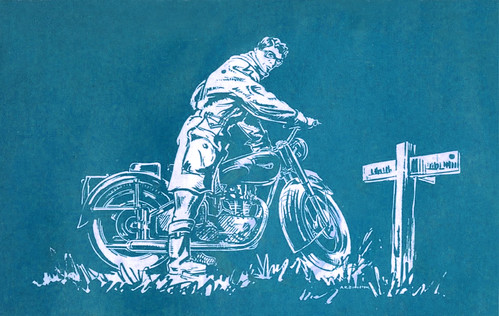 1950's English moto graphic by bullittmcqueen