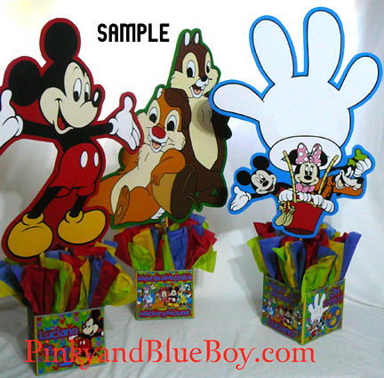 Farm Birthday Party Supplies on Mickey Mouse Clubhouse Birthday Party De Corations Characters