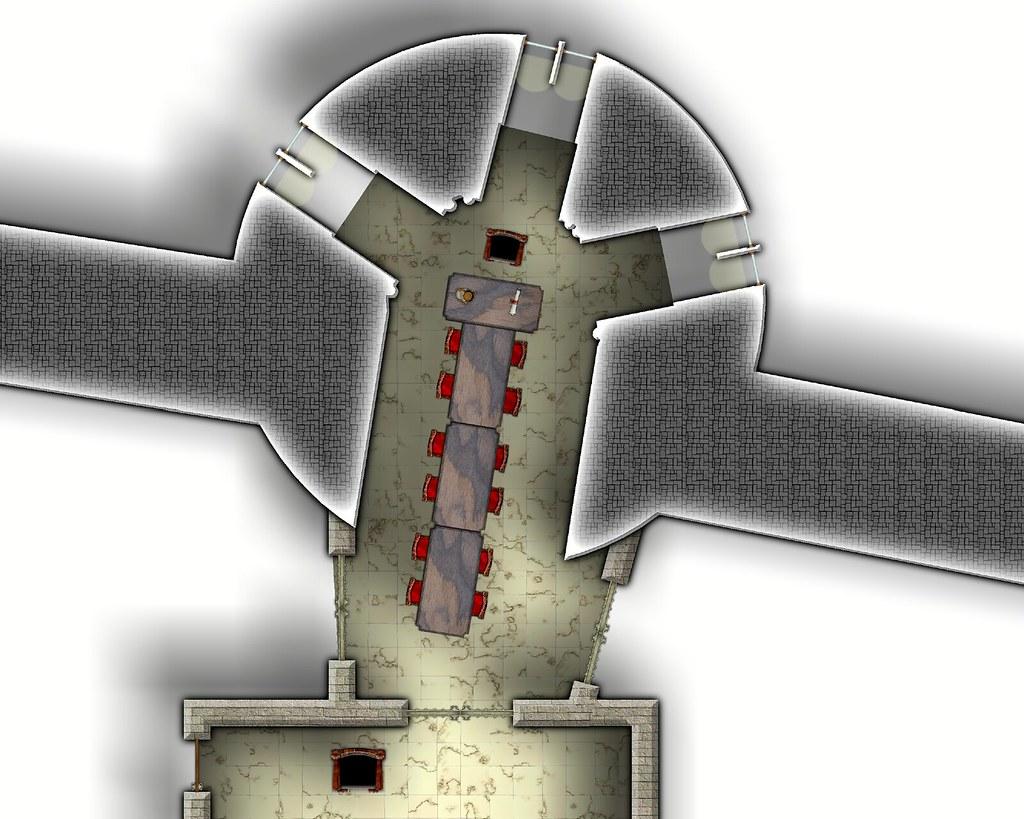 Die Zitadelle von Karalion - Renaissance Kleiner Ratssaal