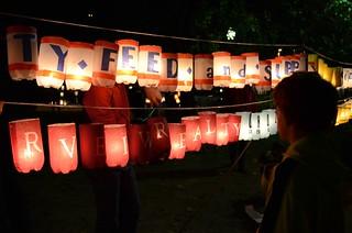 City Feed and Supply Lanterns