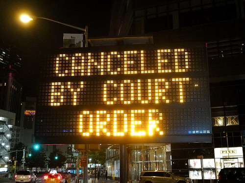 Canceled by court order