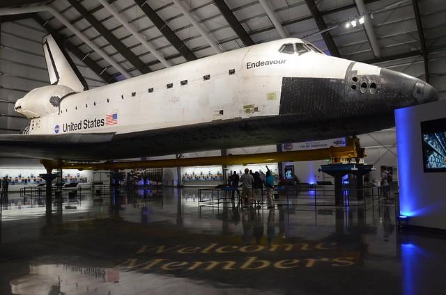 samuel oschin space shuttle endeavour display pavilion events - photo #2