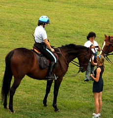 english riding(0.0), racing(0.0), eventing(0.0), animal sports(1.0), equestrianism(1.0), mare(1.0), equestrian sport(1.0), rein(1.0), trail riding(1.0), sports(1.0), endurance riding(1.0), horse(1.0), horse trainer(1.0), jockey(1.0), pasture(1.0),