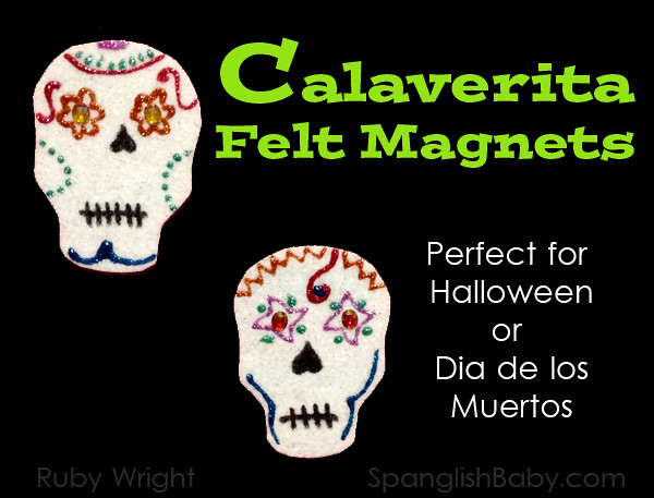 Calaverita Felt Magnets