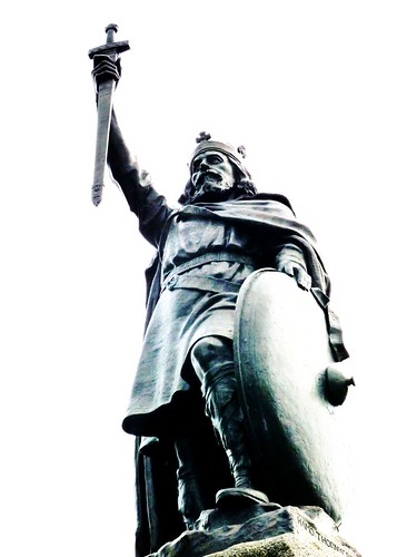 King Alfred the Great at Winchester Broadway