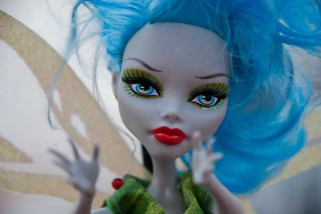 Ghoulia Thrillerbell (Tinkerbell), a Scarily Ever After DIY Tale character by Fran and his twin