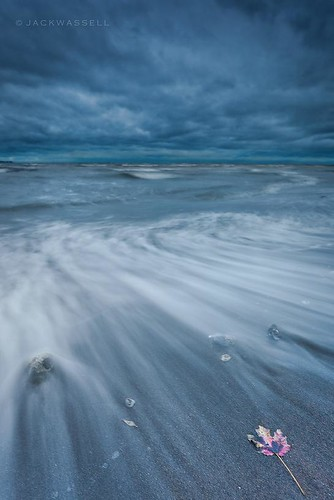 ocean longexposure autumn sea sky seascape storm fall beach water clouds leaf waves connecticut sandy tide hurricane westhaven jackwassell hurricanesandy