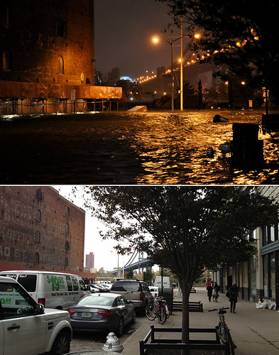 Main and Water Street, October 29 and November 2, 2012