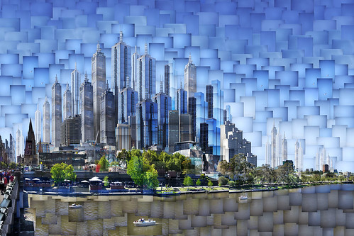 Melbourne 2064 AD: Collins Street Sector