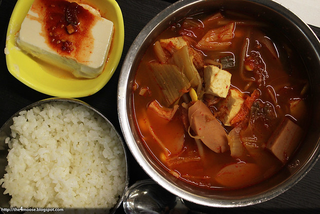 Budae Jjigae with Tofu