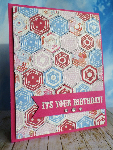 Hostess Blog Hop - It's Your Birthday Hexagons