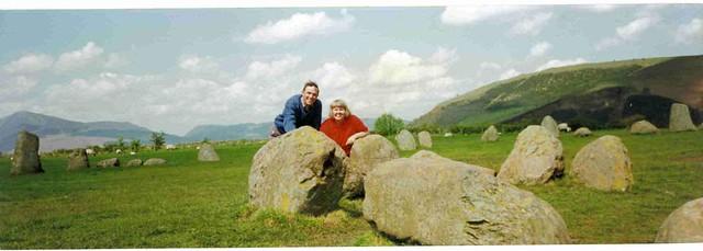 Paul & Bex at Castlerigg Stone Circle, Keswick, England