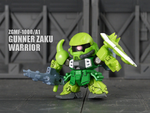 GUNNER ZAKU WARRIOR