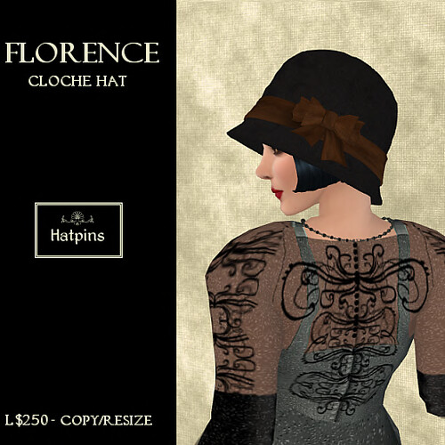 Hatpins - Florence Cloche - Brown (copy_mod)