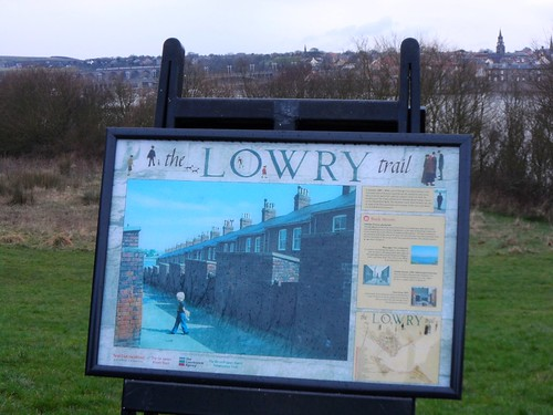 Back Streets on Lowry Trail in Berwick upon Tweed