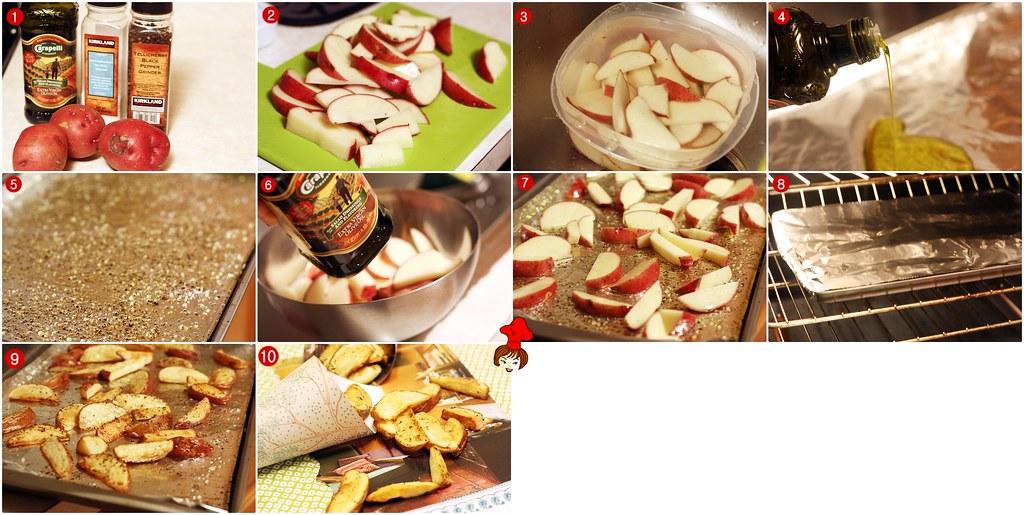 烤薯條 Oven Baked French Fries  3.5