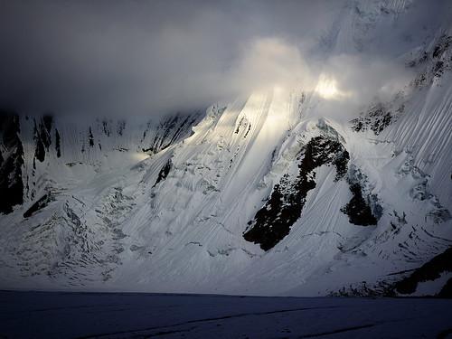 日落 冰川 巴基斯坦 喀喇昆仑