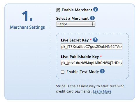 Documentation – Payment « HTML Form Builder Online , PHP