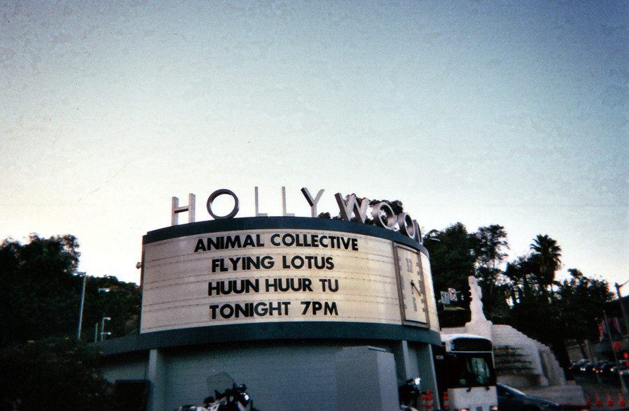 Animal Collective & Flying Lotus at Hollywood Bowl