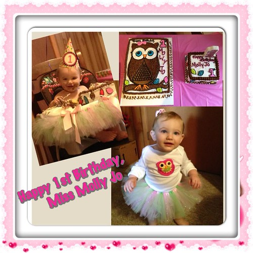 molly jo's first birthday